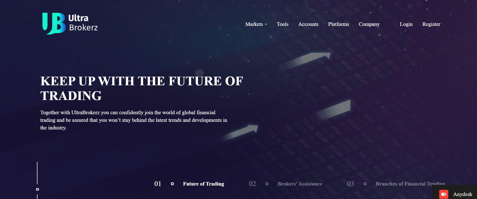 UltraBrokerz website