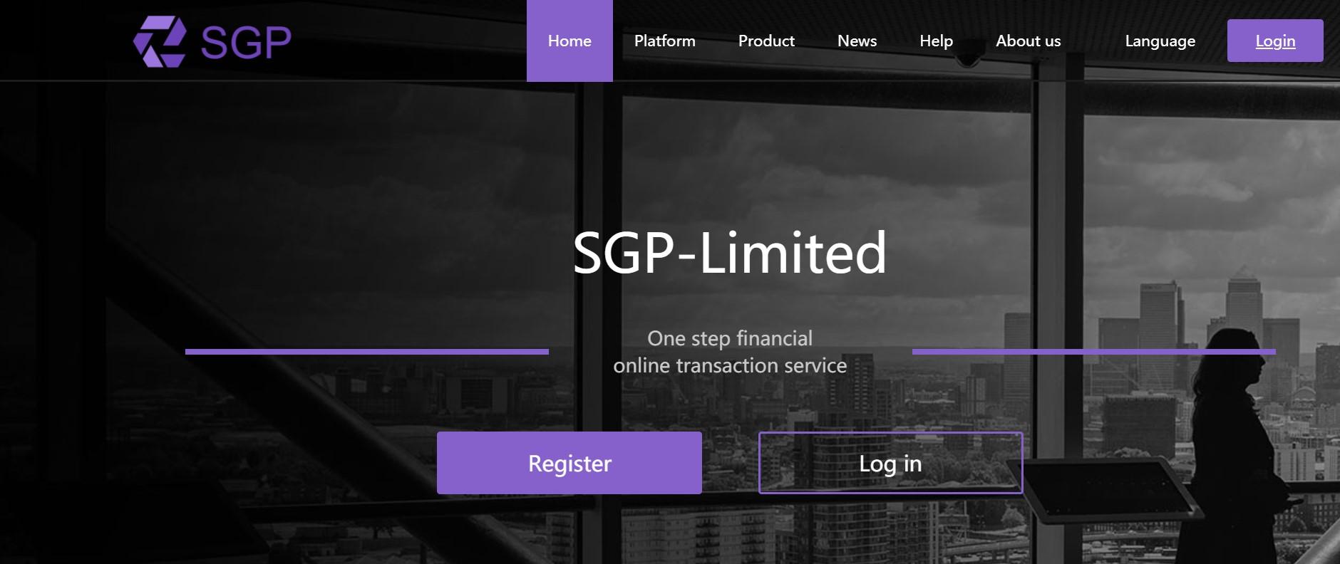 SGP-Limited website