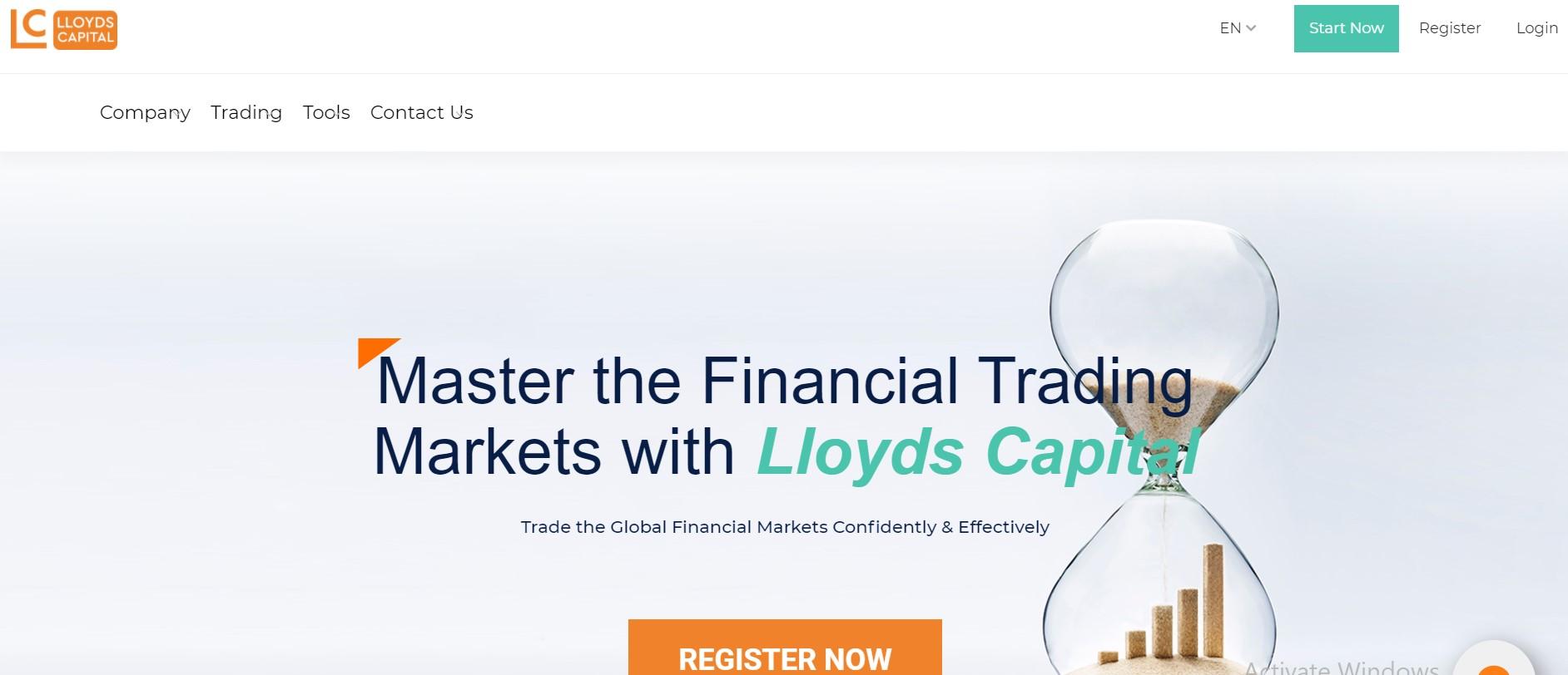 Lloyds-Capital website