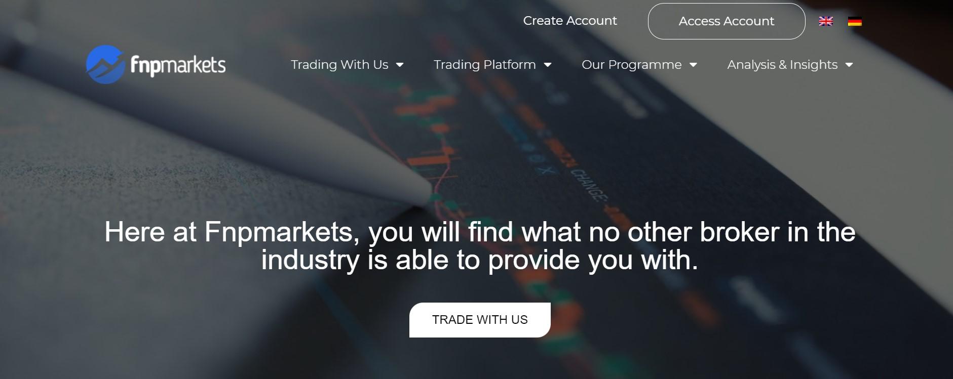 FNPMarkets website