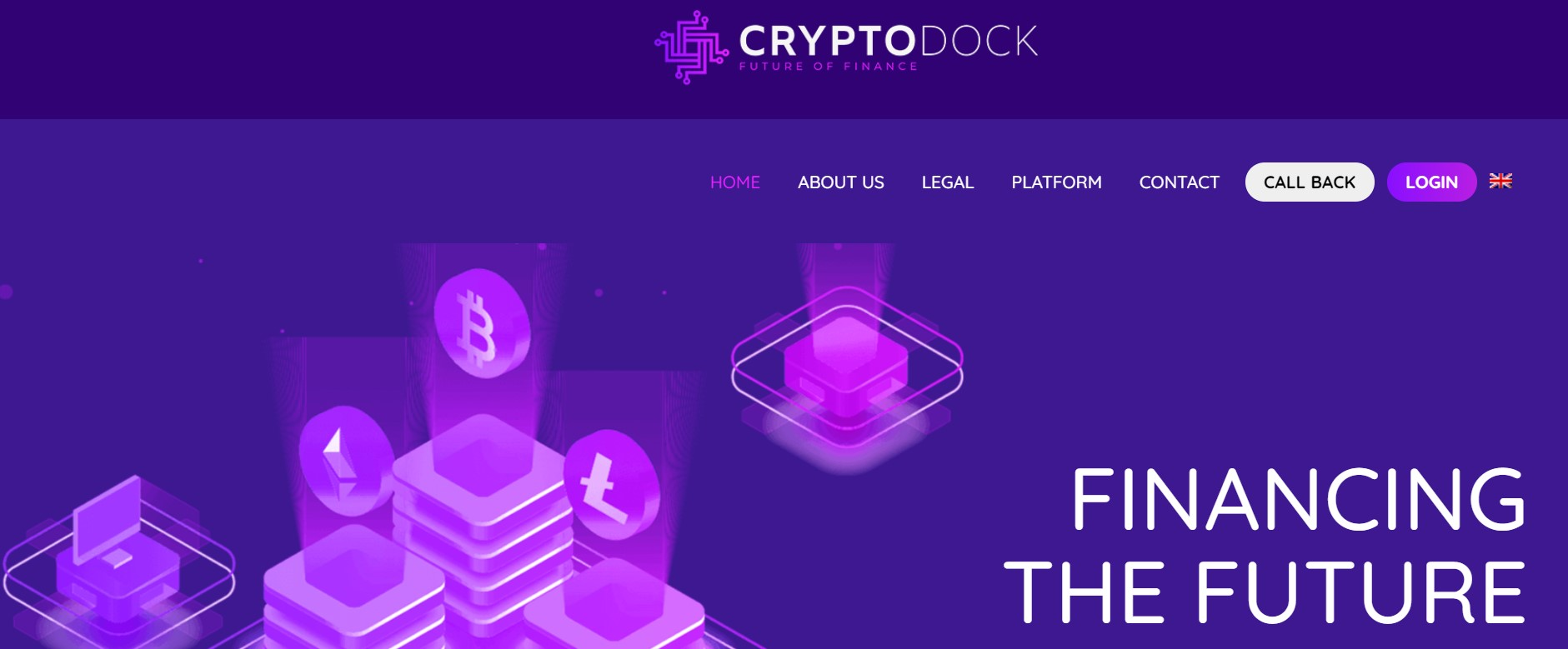 Crypto-Dock website