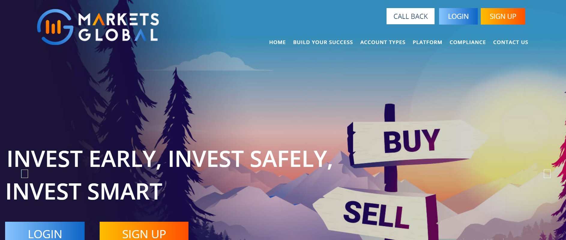 Markets Global website