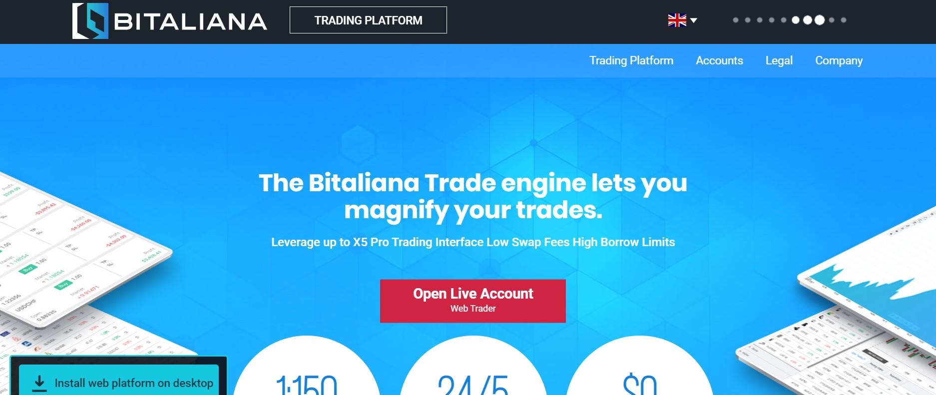 Bitaliana website
