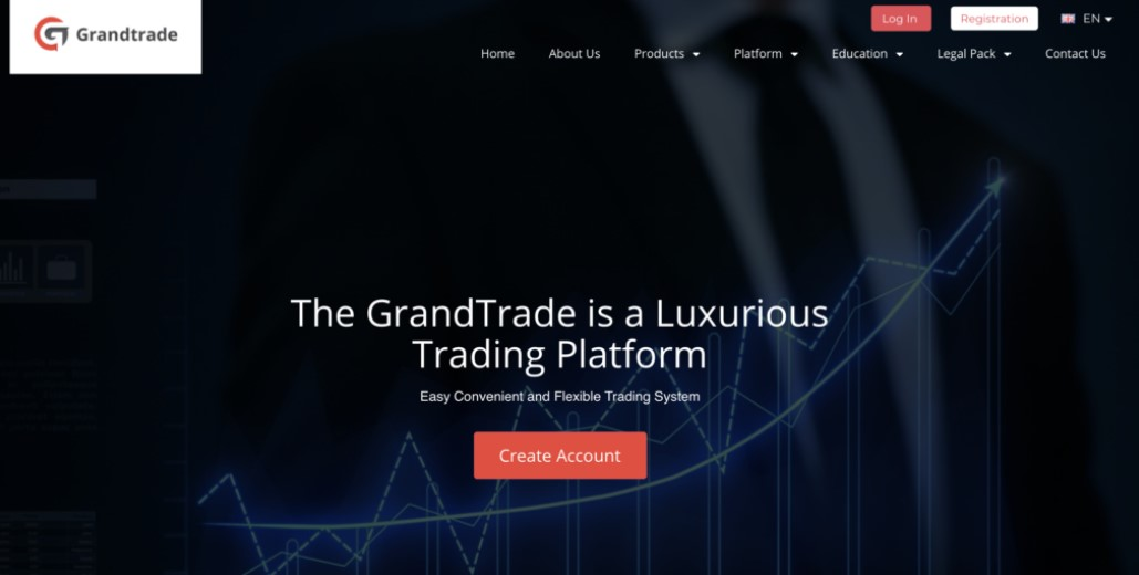 GrandTrade website