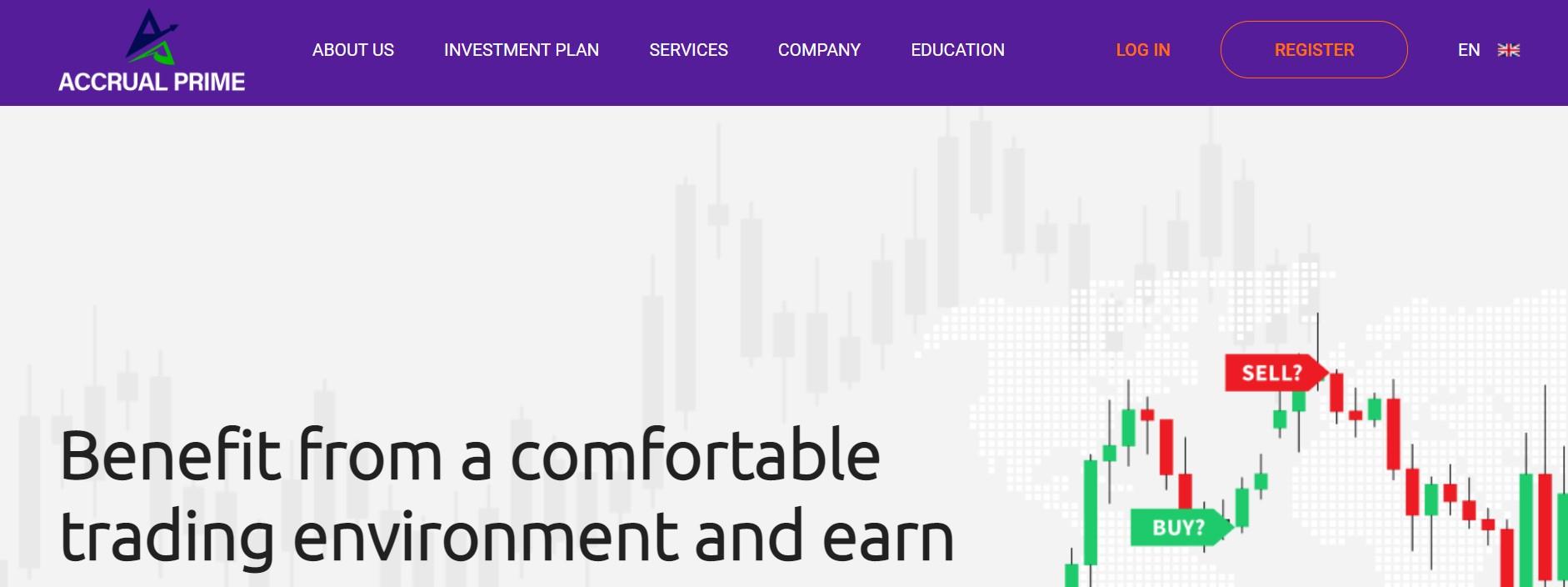 Accrual Prime website