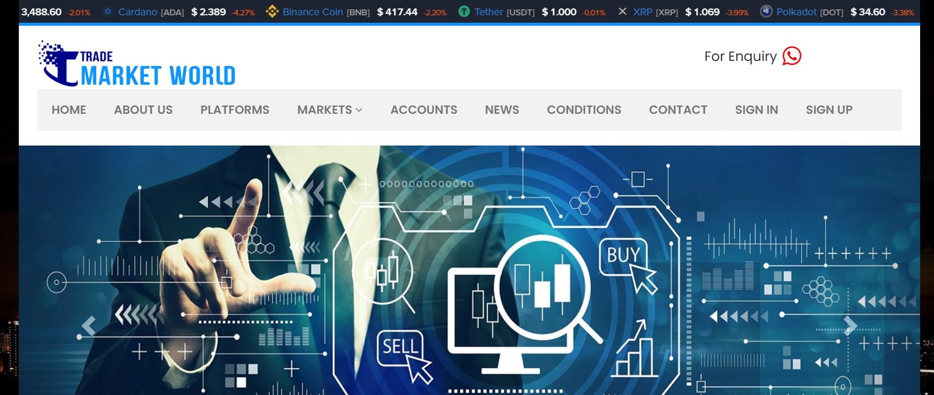 Trade Market World website