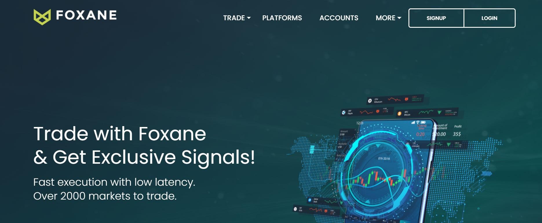 Foxane website