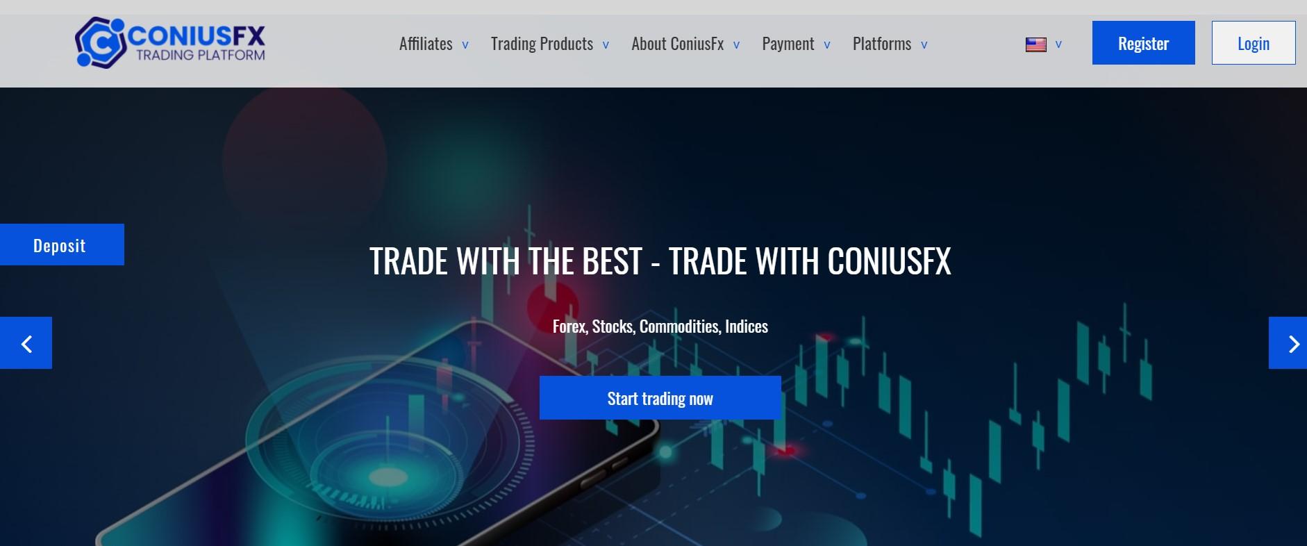 ConiusFx website