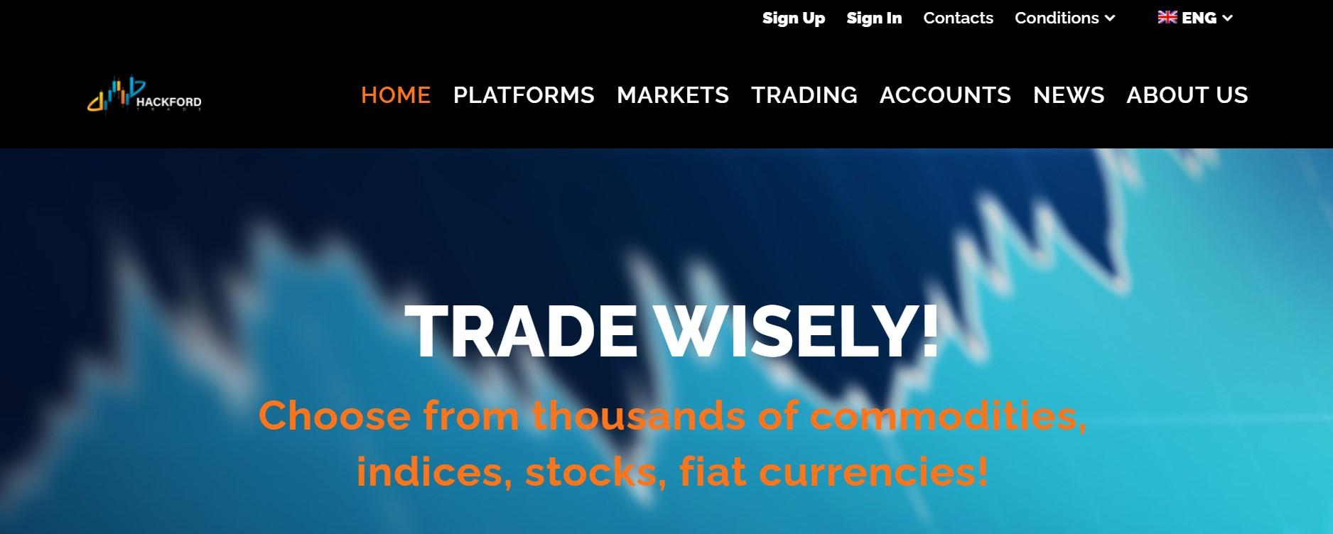Hackford-Trade website