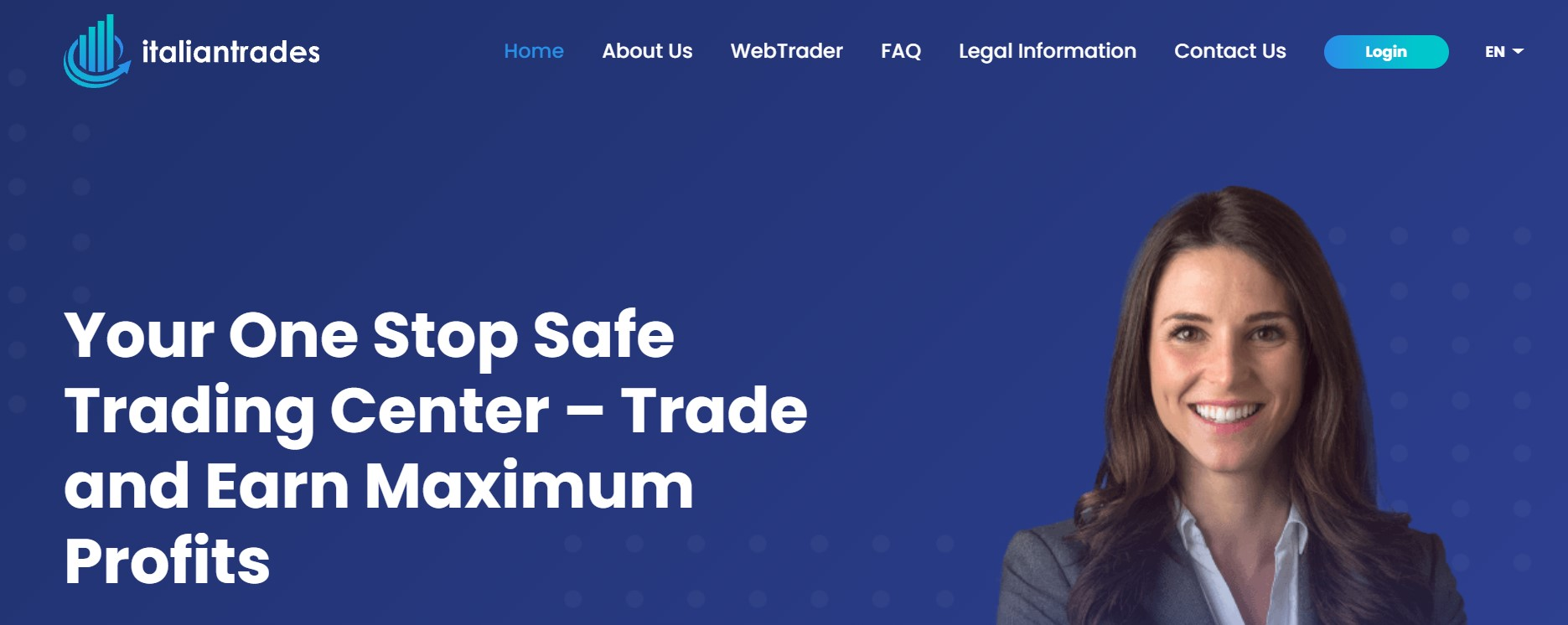 Italiantrades website
